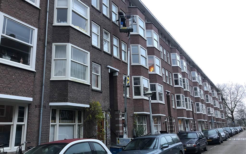 Glazenwasser Amsterdam Oud Zuid